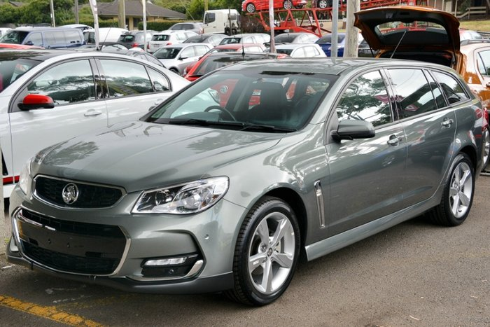 2016 HOLDEN COMMODORE SV6 VF II MY16 GREY