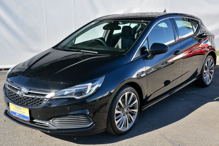 2017 HOLDEN ASTRA RS-V BK MY17 MINERAL BLACK