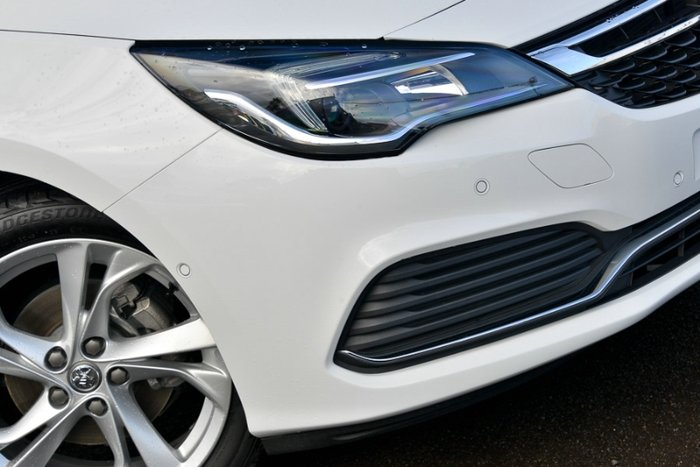 2017 HOLDEN ASTRA RS BK MY17 SUMMIT WHITE