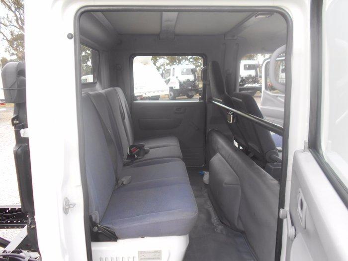 2007 Mitsubishi Canter ##DUAL CAB## WHITE