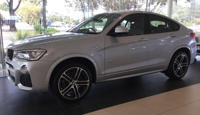2017 BMW X4 XDRIVE20D F26 Silver