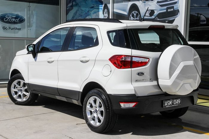 2017 FORD ECOSPORT TREND BL White