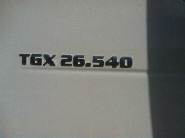 2017 Man 26.540 TGX  TGX 26.540 XLX
