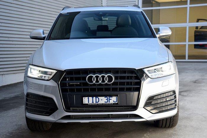 2017 AUDI Q3 TFSI SPORT 8U Silver