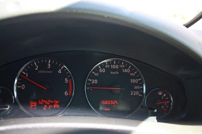 2013 NISSAN NAVARA ST-X 550 D40 Series 5 White