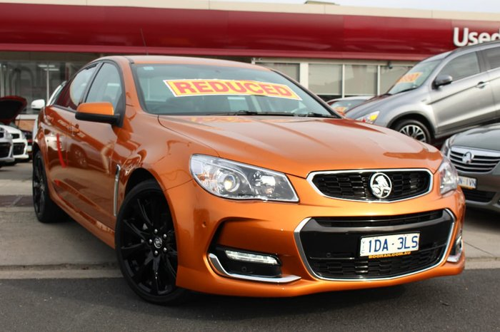 2017 HOLDEN COMMODORE SV6 VF Series II Orange