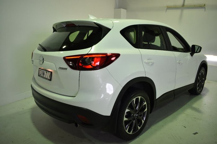 2015 MAZDA CX-5 GRAND TOURING KE Series 2 White