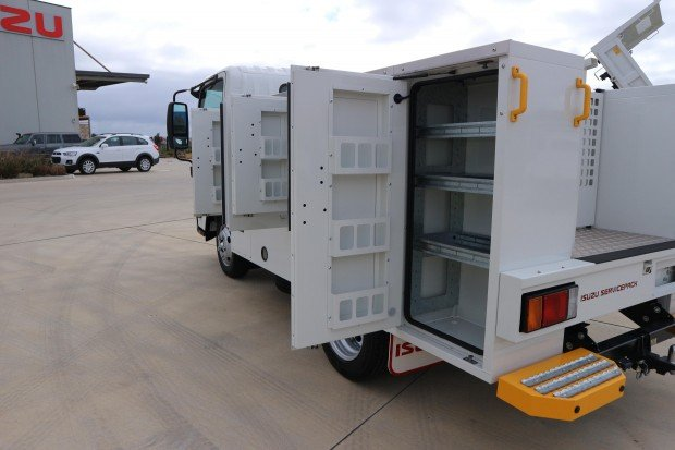 2017 Isuzu NLR 45 150 SWB AMT SERVICEPACK