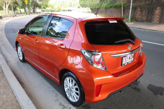 2016 TOYOTA YARIS ZR NCP131R Orange