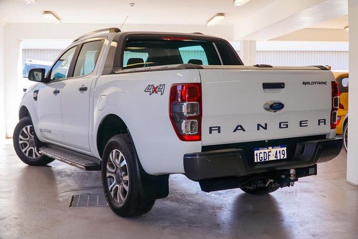 2017 FORD RANGER WILDTRAK PX MkII White