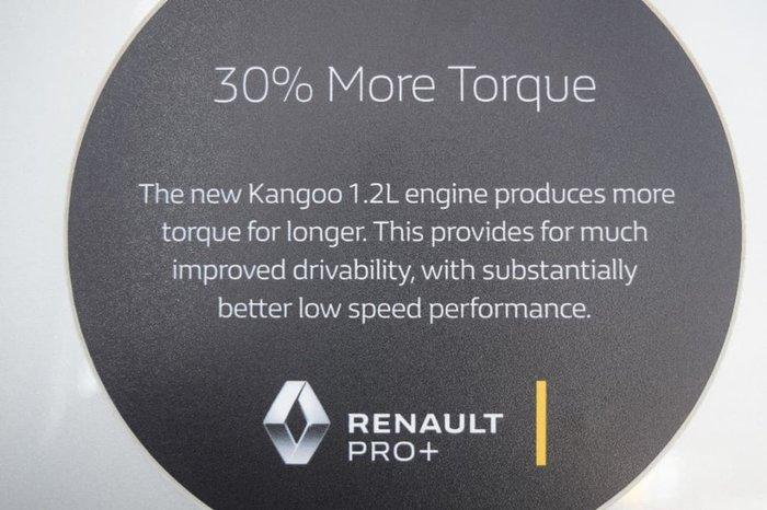 2018 RENAULT KANGOO F61 Phase II White