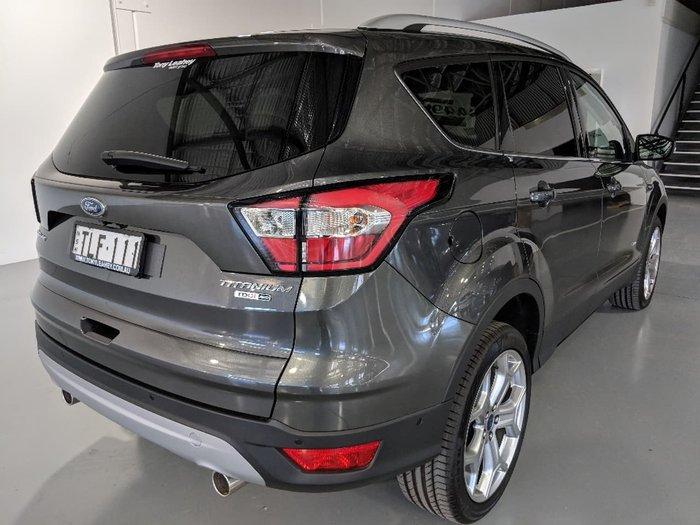 2017 FORD ESCAPE Titanium ZG Grey