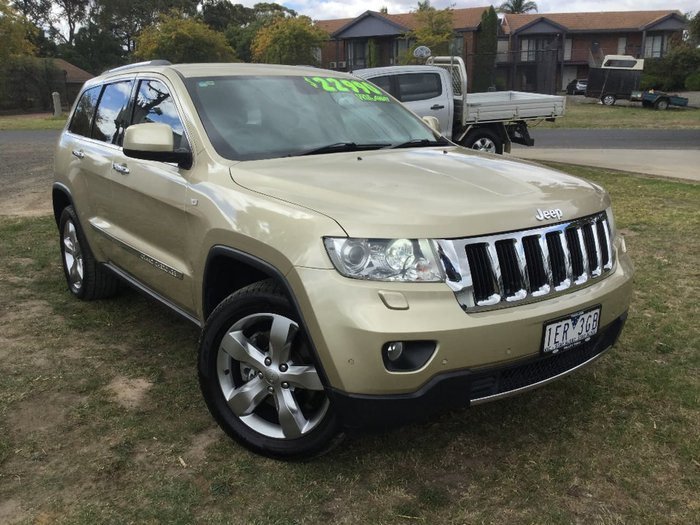 2012 JEEP GRAND CHEROKEE LIMITED WK Gold
