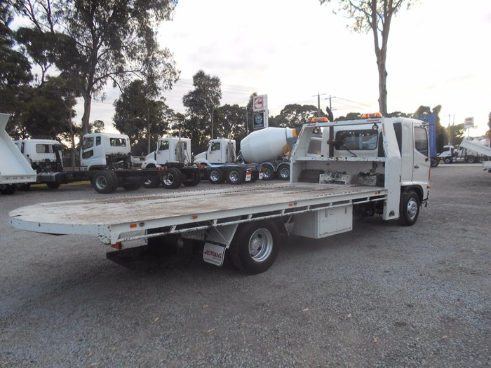 2003 Hino FD Ranger 6 # FD RANGER PRO 3 CAR CARRIER# WHITE