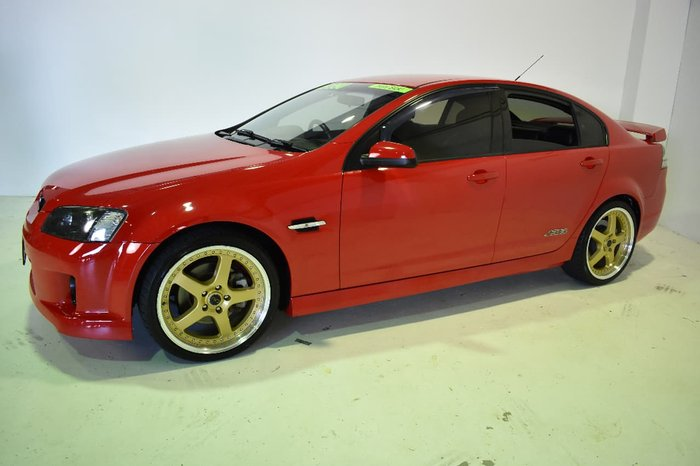 2009 HOLDEN COMMODORE SS V VE Red