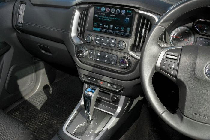 2018 HOLDEN COLORADO LTZ DUAL CAB RG MY18 SATIN STEEL GREY