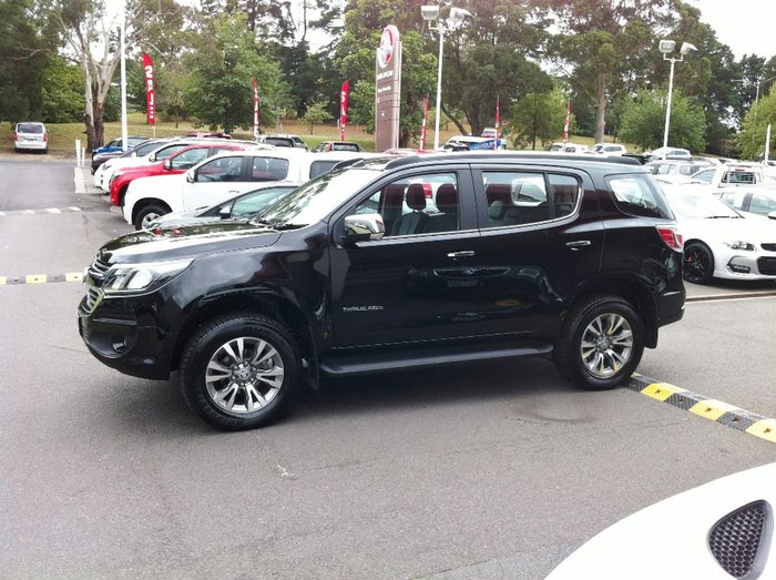2017 HOLDEN TRAILBLAZER LTZ RG Black