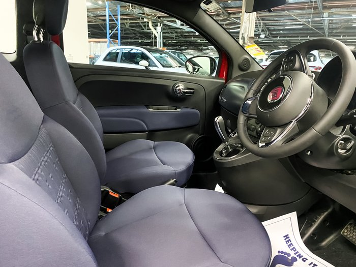 2021 Fiat 500 Lounge Series 9 Passione Red