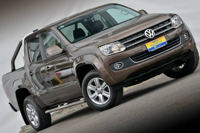 2015 VOLKSWAGEN AMAROK TDI420 HIGHLINE DUAL 2H MY15 TOFFEE BROWN