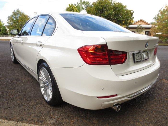 2015 BMW 320I LUXURY LINE F30 White