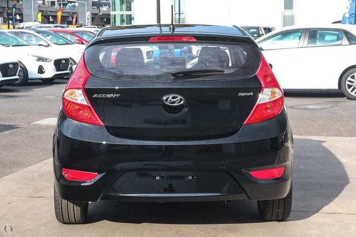 2018 HYUNDAI ACCENT Sport RB6 Black