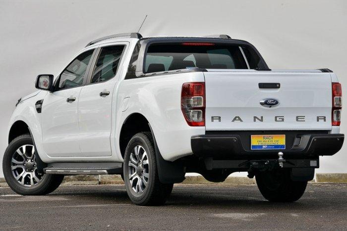 2017 FORD RANGER WILDTRAK DUAL CAB PX MKII WHITE