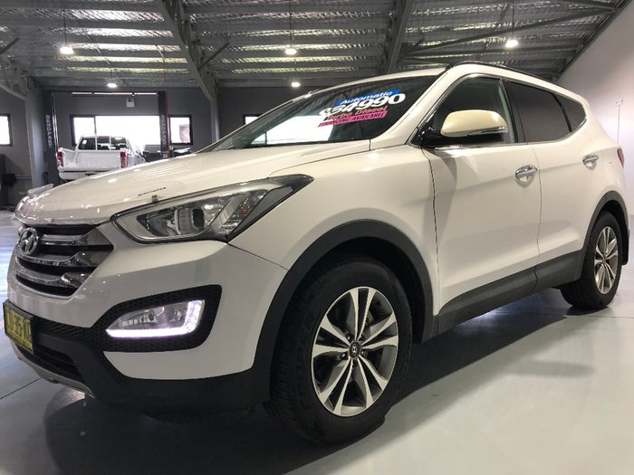 2015 HYUNDAI SANTA FE Elite DM2 White
