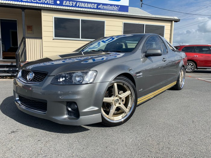2011 Holden Ute SV6 VE Series II GREY