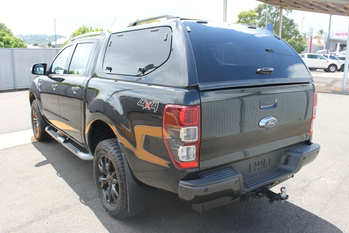 2014 Ford Ranger Wildtrak PX 4X4 Dual Range BLACK
