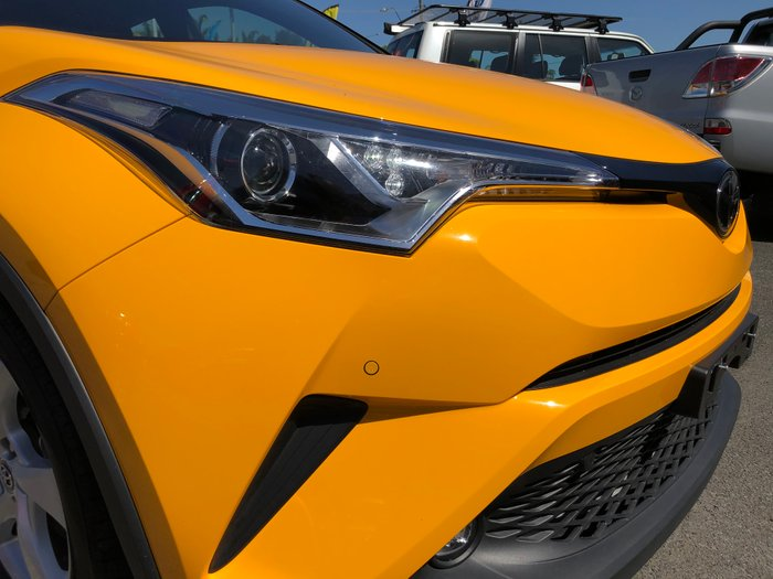 2016 TOYOTA C-HR NGX10R Wagon 5dr S-CVT 7sp 2WD 1.2T YELLOW