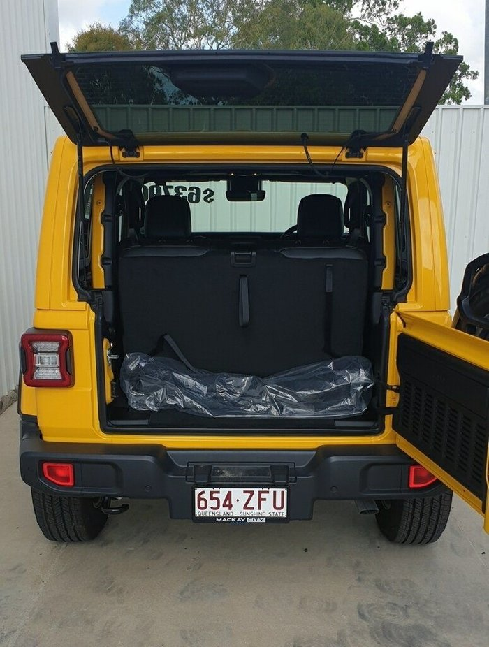 2019 Jeep Wrangler Overland JL MY19 4X4 Dual Range HELLAYELLA
