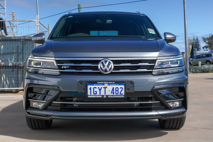 2019 Volkswagen Tiguan 162TSI Highline Allspace 5N MY19.5 Four Wheel Drive PLATINUM GREY METALLIC