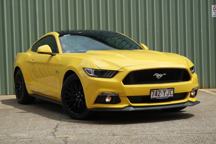 2015 Ford Mustang GT FM YELLOW