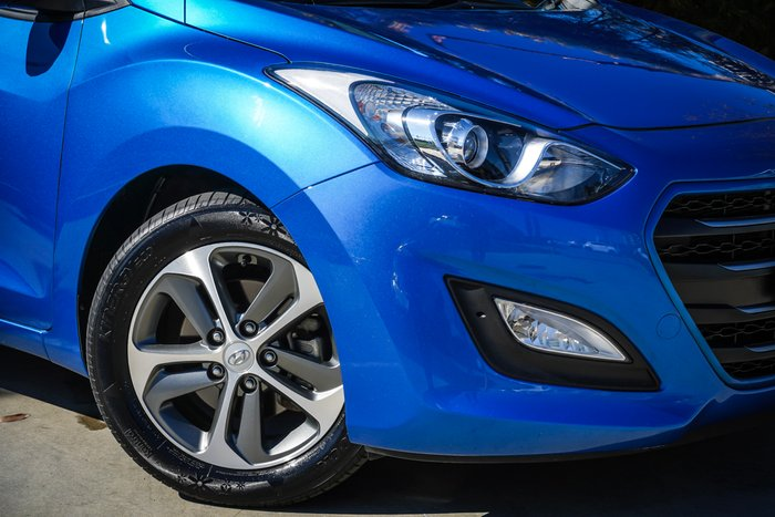 2016 Hyundai i30 Active X GD4 Series II MY17 Blue