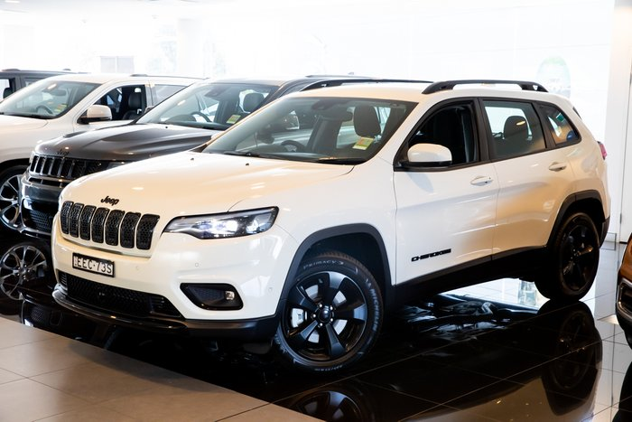 2019 Jeep Cherokee Night Eagle KL MY19 4X4 On Demand Pearl White Pearl Coat