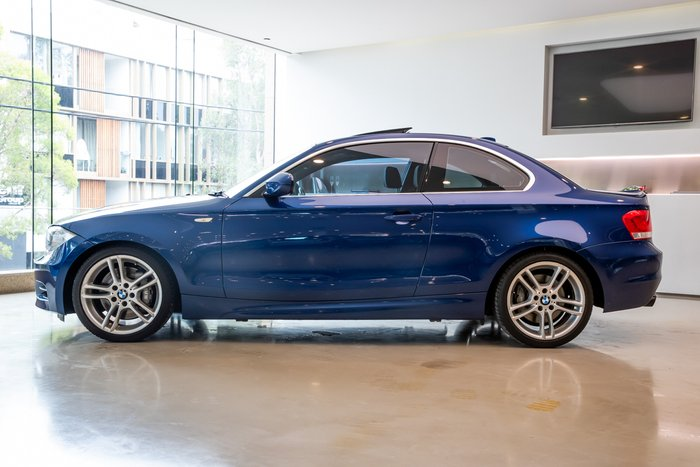 2012 BMW 1 Series 135i M Sport E82 LCI MY12.5 BLUE