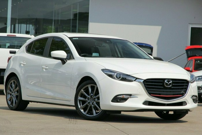2017 Mazda 3 SP25 BN Series WHITE
