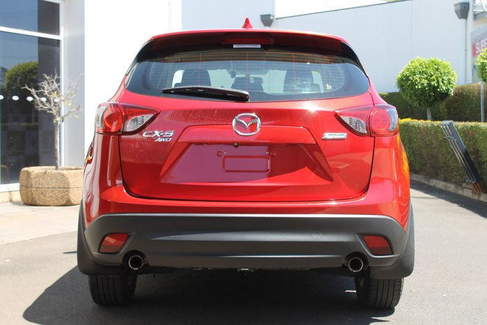 2013 Mazda CX-5 Maxx Sport KE Series Four Wheel Drive RED