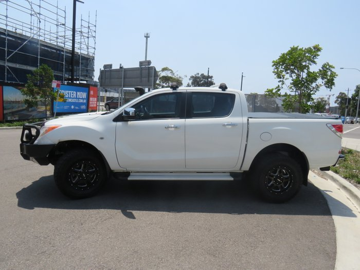 2013 Mazda BT-50 XTR UP 4X4 Dual Range WHITE
