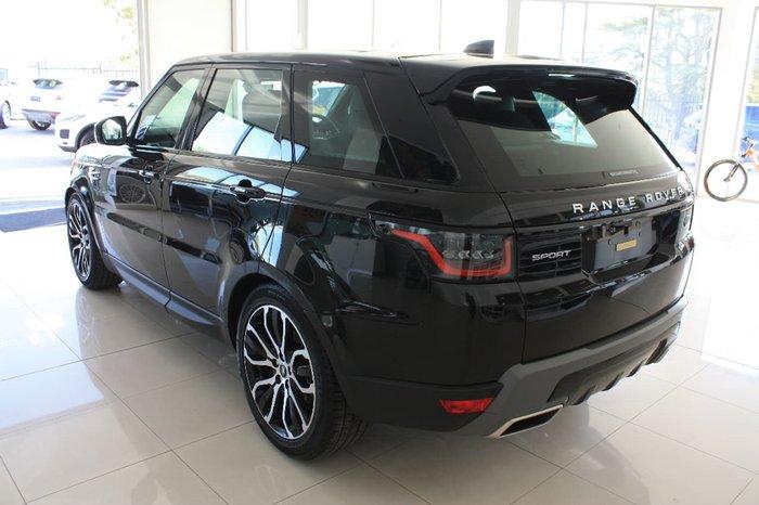 2018 LAND ROVER RANGE ROVER SPORT TDV6 SE L494 Black