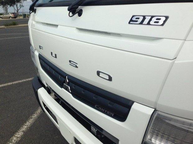2018 Fuso Canter 918 Wide FECX1KR4SFAD White