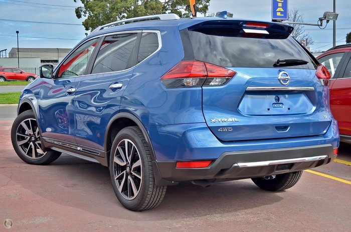 2017 NISSAN X-TRAIL TI T32 Series II Blue