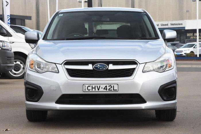 2012 SUBARU IMPREZA 2.0I-L G4 Silver