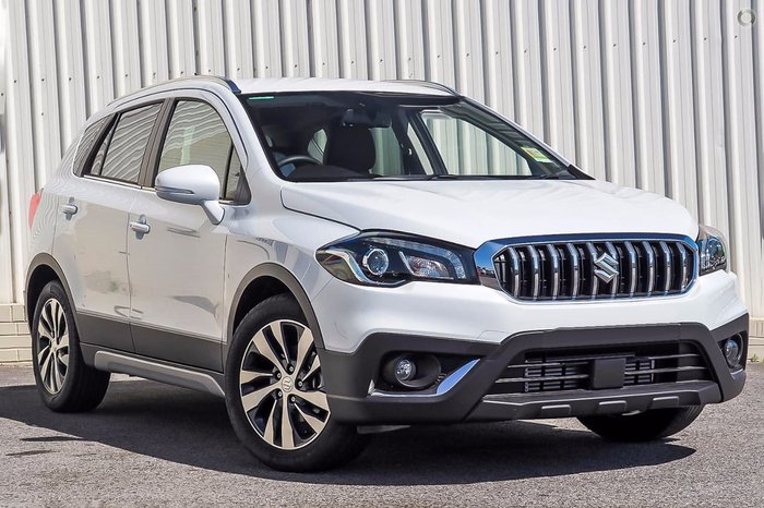 2018 SUZUKI S-CROSS TURBO PRESTIGE JY White