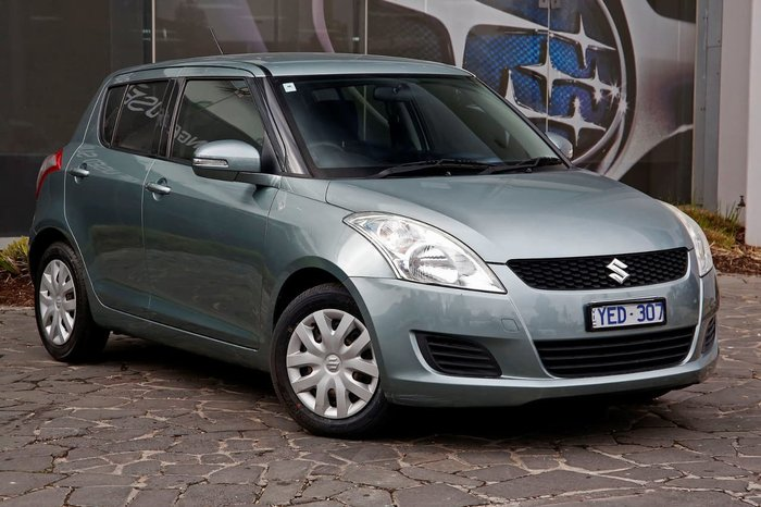 2011 SUZUKI SWIFT GL FZ Grey