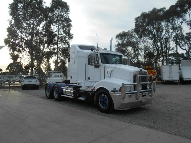 2006 Kenworth T401 WHITE