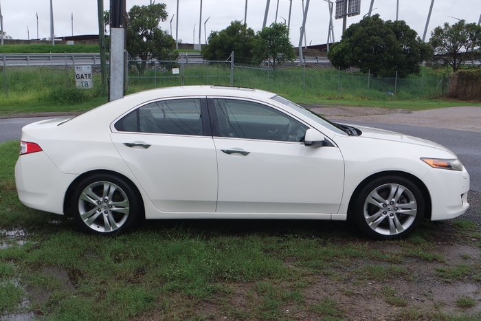 2009 Honda Accord V6 Luxury 8th Gen white