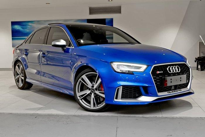 2017 AUDI RS3 8V Blue