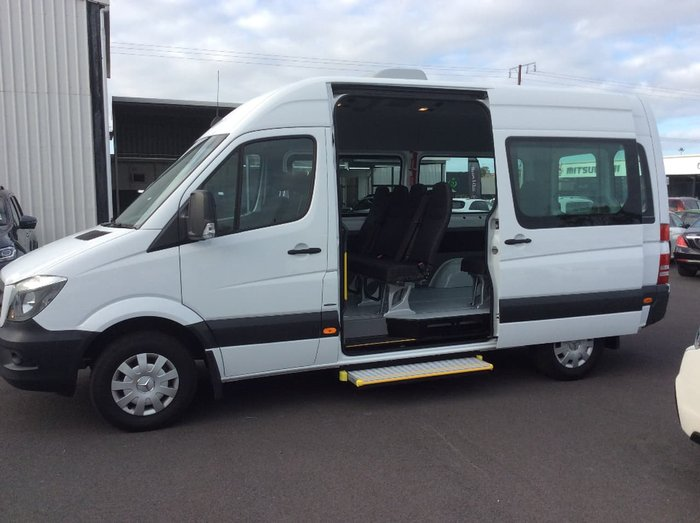 2016 MERCEDES-BENZ SPRINTER 313CDI TRANSFER NCV3 White