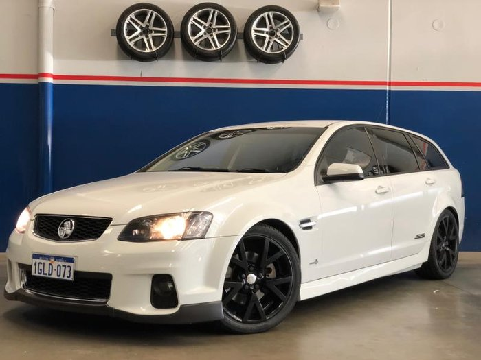 2012 HOLDEN COMMODORE SS VE II MY12 WHITE
